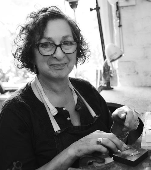 Dee Ayles Jewellery Designer London Portrait