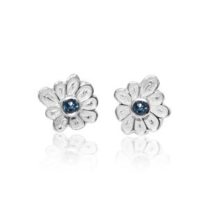 Dee-Ayles-Jewellery-London-Flower-Stud-Earring-431