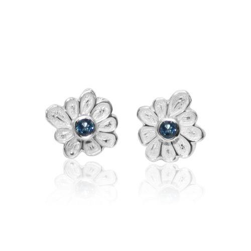 Dee-Ayles-Jewellery-London-Flower-Stud-Earring-431